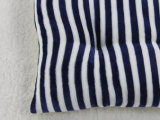 Streifen-Entwurfs-Polyester, das weiches dekoratives Sitzkissen füllt