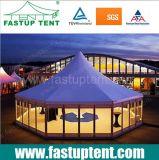 мебель приём гостей в саду шатра купола Pagoda шестиугольника алюминия 6m 8m