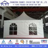 Алюминиевый прочный водоустойчивый шатер Pagoda Gazebo стеклянной стены