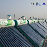 Calentador de agua solar de cristal económico de la presión inferior del tubo de vacío