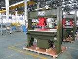 Chinese Gouden Leverancier die Hoofd Scherpe Machine voor Schuim /Fabric/Leer reizen