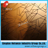 Vidro fosco Bronze / Bronze Acid Etched Glass