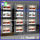 Cristallo LED Window Light Box per Property Showcase Used su Real Estate
