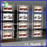 Окна ландшафта СИД недвижимости коробка кристаллический светлая с знаком Portrate вися