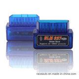Elm327 Bluetooth OBD2/surface adjacente de lecteur de code véhicule d'Obdii