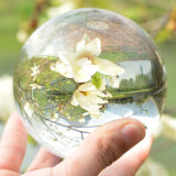 가정 Decoration 100mm Clear Crystal Glass Ball