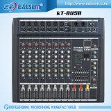 Professionele kt-6/8/12USB die de Reeks van de Mixer van de Console mengen