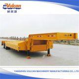 Zware Gooseneck van de Aanhangwagen van de Vrachtwagen Flatbed Semi Aanhangwagen Lowbed met de Opschorting van de Lucht