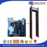 Marcher-À travers le détecteur de métaux de métaux d'induction d'impulsion pour des points de contrôle de sécurité