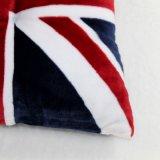Bandeira inglesa poliéster decorativo impresso que enche o coxim de assento ao ar livre