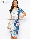 꽃 무늬 섹시한 결박 남프랑스 여자 복장