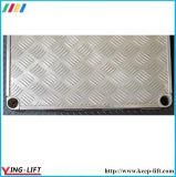 Gummirad-Hochleistungsaluminiumplattform-Handlaufkatze CF3672