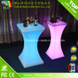 Table à LED moderne à LED Bar Table / acrylique LED Cocktail Table / LED Furniture
