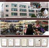 Contenitore di vigilanza di cuoio dell'unità di elaborazione di vendita diretta della fabbrica con il coperchio di vetro