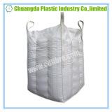 白いPPによって編まれるFIBCの大きい容器のジャンボ袋のバッフル