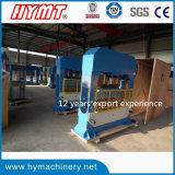 Máquina de dobra hidráulica da placa Hpb-100/1010 de aço