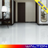 600X600mmはガラス化した極度の白い磨かれた磁器のタイル張りの床のタイル(PC001)を