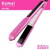 Straightener Km1088 do cabelo da tela de toque de Kemei LCD