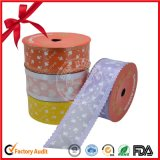 Vario rodillo de la cinta de los colores para la decoración de la Navidad