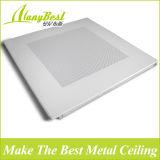 Tuiles en aluminium du plafond 600X1200 en métal insonorisé