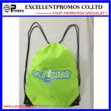 Le meilleur le plus populaire vendant le sac cosmétique de cordon promotionnel de coton (EP-B9099)