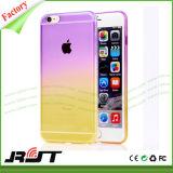 Caisse de vente chaude de téléphone de couleur de gradient pour iPhone6/6s