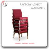 Empilant les chaises se reposantes d'église rouge de communion (JC-57)