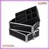 1 Black Aluminum Trolley Beauty Cosmetic Case (SATCMC021)に付き4