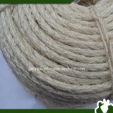 corda branca descorada 6mm do sisal