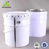 20L 5gallon Floral Lace Lid Paint Bucket Pail für Chemicals