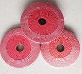 De disco de cerámica de fibra abrasivo / recubiertos disco abrasivo / lijado