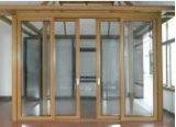 Populärer Puder-überzogener thermischer Bruch-Aluminiumflügelfenster Windows für Handels- und Wohngebäude