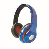 Auricular estéreo portable de Bluetooth del receptor de cabeza sin hilos de Bluetooth del estudio plegable con la tarjeta de memoria Slot&Wired