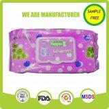 Wipe младенца изготовления свободно образца OEM для пользы младенца