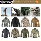 Rivestimento impermeabile di campeggio Hoodie dei cappotti di caccia esterna superiore degli uomini