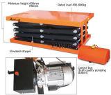 800kg Cuatro-Scissor el vector de elevación eléctrico inmueble