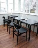 목제 덴마크 디자인 다방 의자
