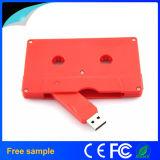 Real Capacidade 8GB Casseteira Estilo Chiavetta Plastic USB Flash Drive