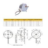 Motor de poca velocidad del engranaje la monofásico para el horno/el equipo eléctrico