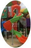 Kaiqi großer im Freien Platstic Spielplatz mit multi Plättchen und Bergsteigern