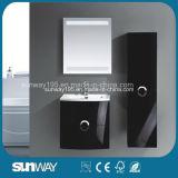 Самой последней установленный стеной итальянский шкаф ванной комнаты MDF конструкции с бортовым шкафом