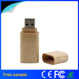 Lecteur flash USB en bois recyclable de logo fait sur commande pour le cadeau de promotion