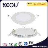 diodo emissor de luz Light do diodo emissor de luz Ceiling Light Recessed Panel do diodo emissor de luz Panel Light de 3W Small