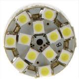 T20 blanc 54 lampe de sauvegarde d'ampoule de spire de frein d'arrière de véhicule de 1210 SMD DEL