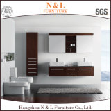 Oak superiore Wall Cabinet di Bathroom Vanity con Porcelain