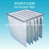 Filtre non-tissé de trou d'air de tissu de l'efficacité G4 de 35%