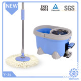 Lavettes télescopiques intelligentes pour des étages de nettoyage