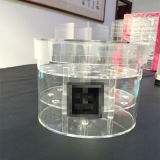 De acrílico transparente de flores frescas Box 16 Tallos