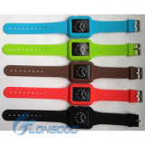 Colorful Silicone Watchband and Case for Apple Watch Strap