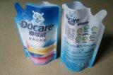 Saco de plástico ereto do malote do pacote do detergente de lavanderia do pó da lavanderia